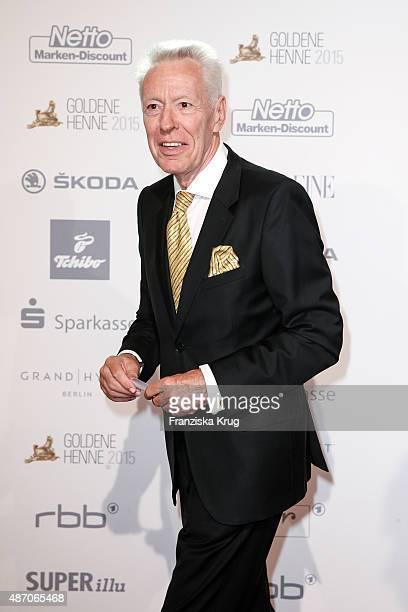 Egon F Freiheit attends Madeleine At Goldene Henne 2015 on September 05 2015 in Berlin Germany