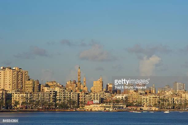 Egypt, Alexandria, the Corniche.