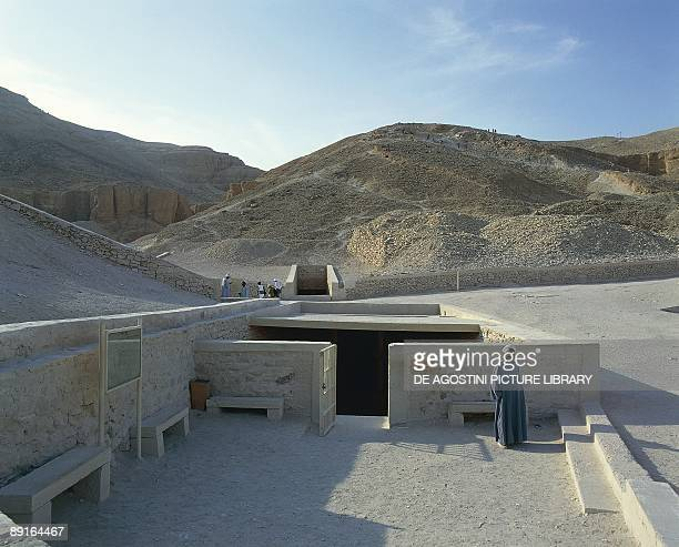 Egypt Ancient Thebes Valley of the Kings Tomb of Tutankhamen