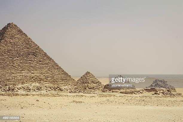 Egypt, Cairo, Pyramids at Giza