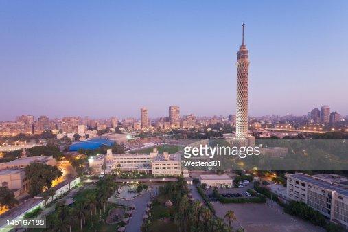 Egypt, Cairo, View of city