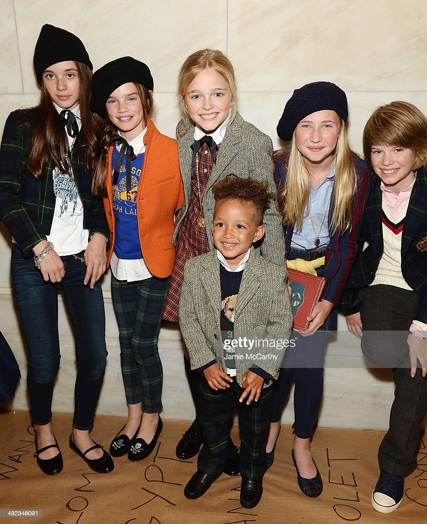 Ralph Lauren Fall 14 Children's Fashion Show In Support Of Literacy