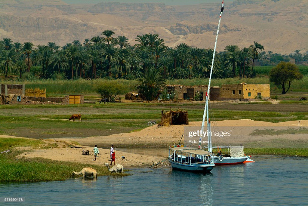 Egypt, Nile between Luxor and Esna