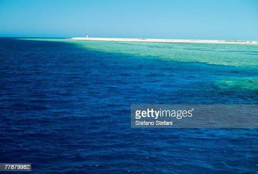 Egypt, Sharm El Sheikh, Ras Mohammed National Park, Seascape : Stock Photo