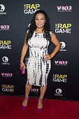 Egypt Sherrod attends the private screening of Lifetime's 'The Rap Game' at Suite Food Lounge on July 22 2016 in Atlanta Georgia