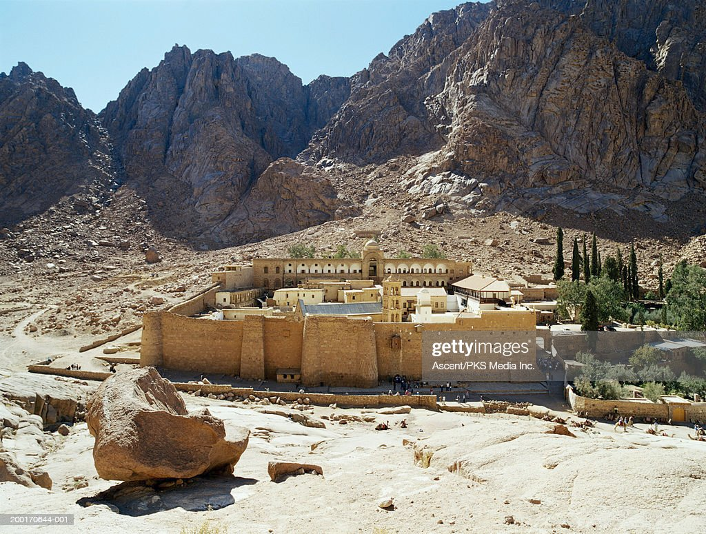 Egypt, Sinai, St. Catherine's Monastery and Mt. Sinai