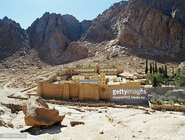 Egypt, Sinai, St. Catherine's Monastery and Mt. Sinai