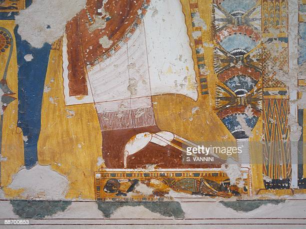 Egyptian eighteenth dynasty stock photos and pictures for Egypt mural painting