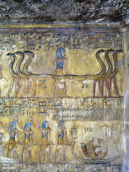 Tomb of tausert pictures and photos getty images for Egyptian mural painting
