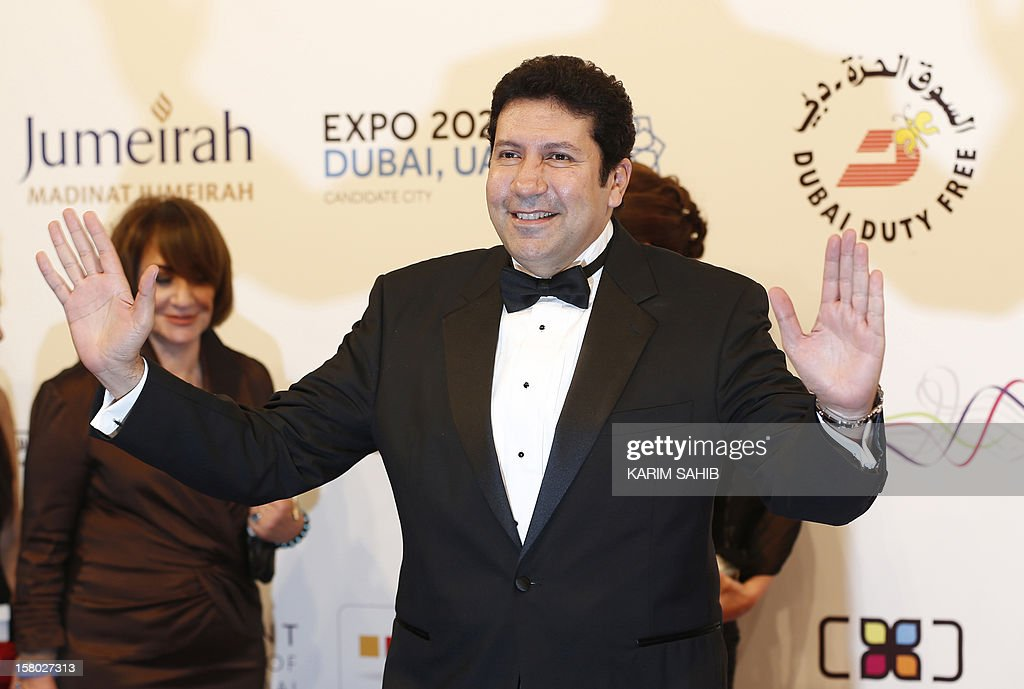 Egyptian actor Hani Ramzi attends the opening ceremony of the Dubai International Film Festival in the Gulf emirate of Dubai on December 9, 2012.