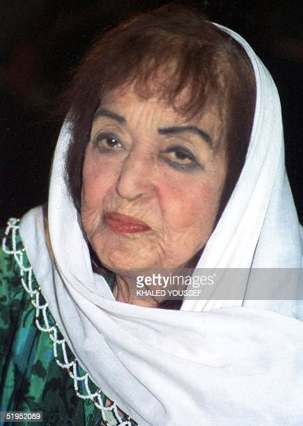 Egyptian actress Fatma Rushdi poses for a portrait in this pictured dated in the 1980s The actress born in 1908 stared in some 20 films and is...