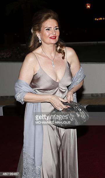 Egyptian actress Yousra attends the opening ceremony of the 8th Muscat International Film Festival in the Omani capital on March 23 2014 AFP...