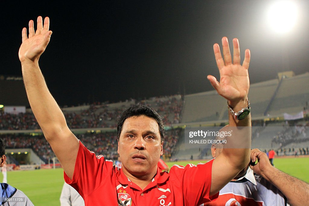 Egyptian Al-Ahly's head coach Hossam El-