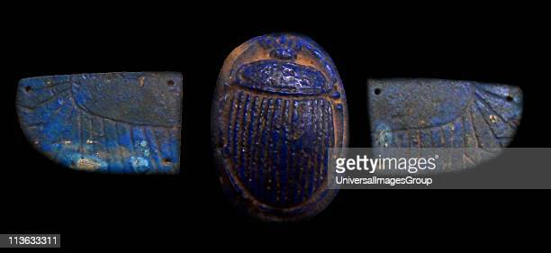 Egyptian amulet Egypt was the scarab symbolically as sacred to the Egyptians