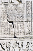 Egyptian calendar Temple of Kom Ombo Egypt This calendar dates from the Ptolemaic Period
