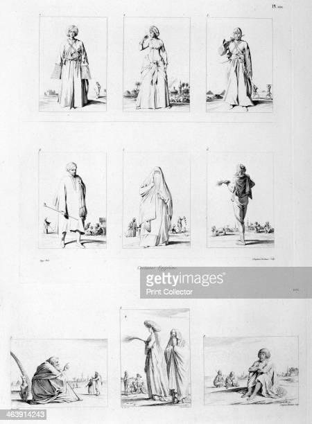 'Egyptian Costume' c1808