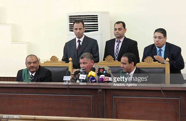 Egyptian court affirms the death penalties for 10 anticoup people accused of 'violence inducement intercepting and creating chaos by firing into the...