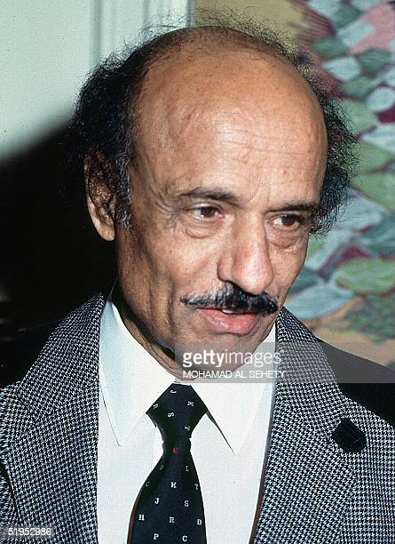 Egyptian film director Hossam Eddine Mustafa pictured in this 1995 file photo died 22 February 2000 at the age of 74 in Cairo Mustafa directed more...