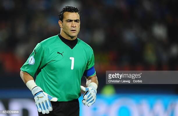 Egyptian goalkeeper Essam EL HADARY