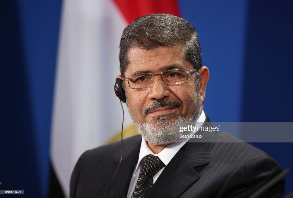Egyptian President Mursi Visits Berlin