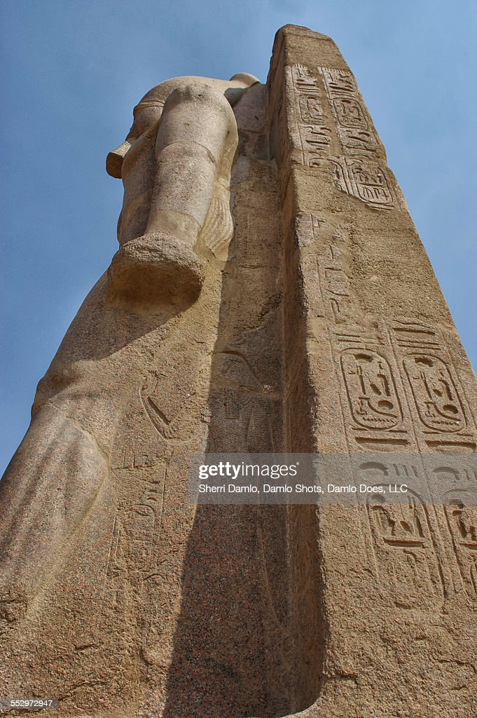Egyptian statue : Stock Photo
