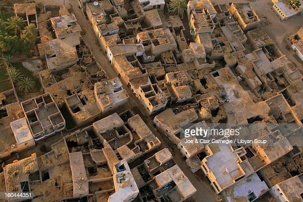 Egyptian Village from the Air.