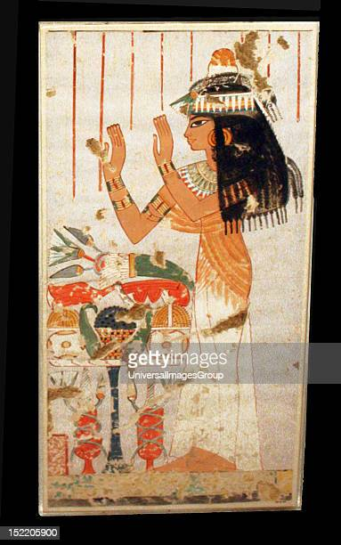 Egyptian wall paintings from The New Kingdom facsimiles of ancient Egyptian wall decoration They are accurate copies of original scenes