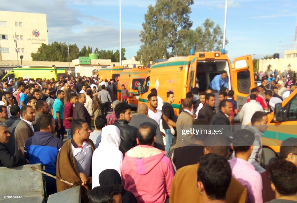 More Than 235 Killed in Egypt's Sinai Mosque
