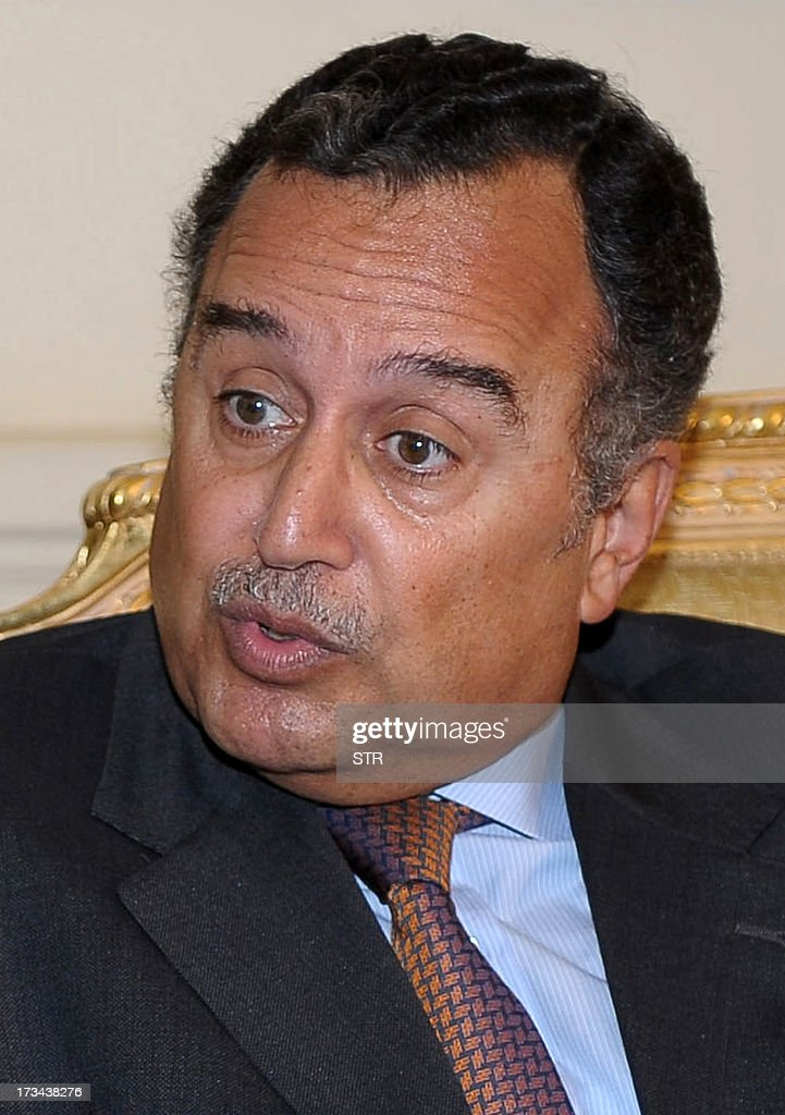 Egypt&#39;s newly appointed foreign minister <b>Nabil Fahmy</b> speaks during a meeting ... - egypts-newly-appointed-foreign-minister-nabil-fahmy-speaks-during-a-picture-id173438276