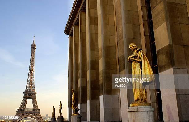 Eiffel Tower and Trocadero
