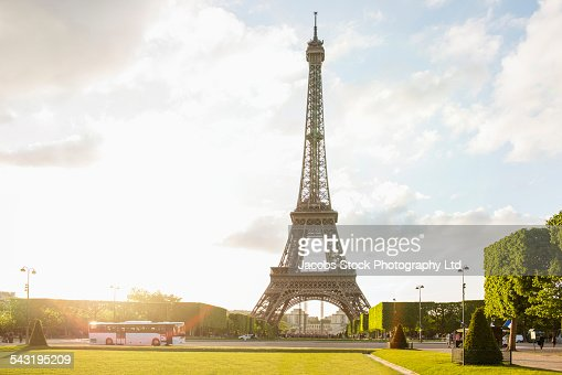 Eiffel Tower at park, Paris, France