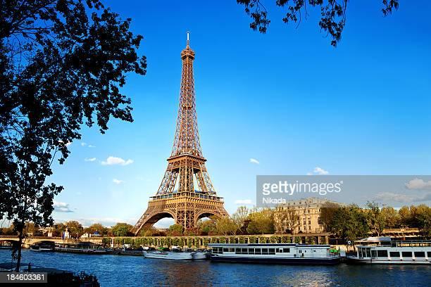 Tour Eiffel à Paris, France