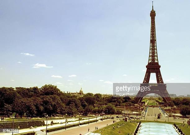 Eiffel Tower Landscape