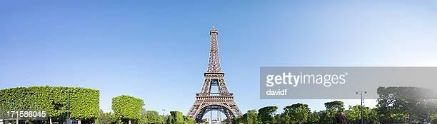 Eiffel Tower Panorama