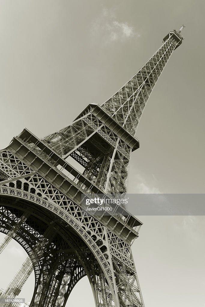Torre Eiffel, París : Foto de stock