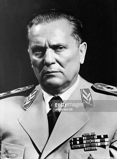 eigentlich Josip Broz * 07051892 Politiker Kommunist YU in Marschalluniform 1959