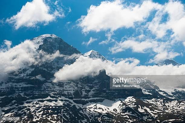 Eiger, Eiger north face, Monch, Jungfrau, Grindelwald, Interlaken-Oberhasli, Canton of Bern, Switzerland