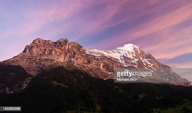 アイガー、スイスアルプスの眺め