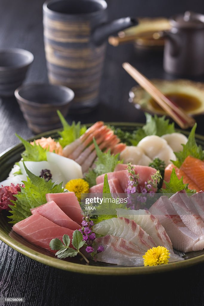 Eight Assorted Sashimi