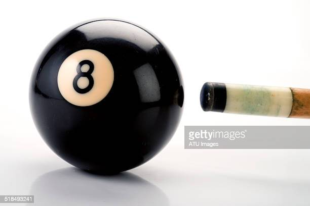Eight ball cue