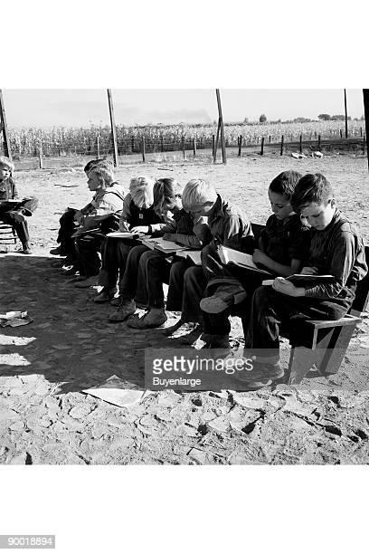 Eight boys at Lincoln Bench School Born in six states Near Ontario Malheur County Oregon