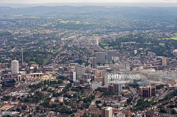 Eight miles south of Central London is the large commercial town of Croydon on September 01 2008