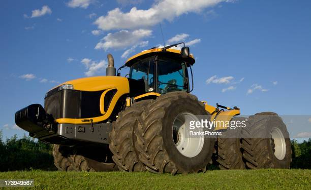 Eight Tire Tractor