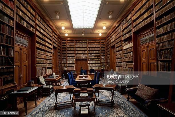 Eighteenth century library Betliar mansion Slovakia 15th19th century