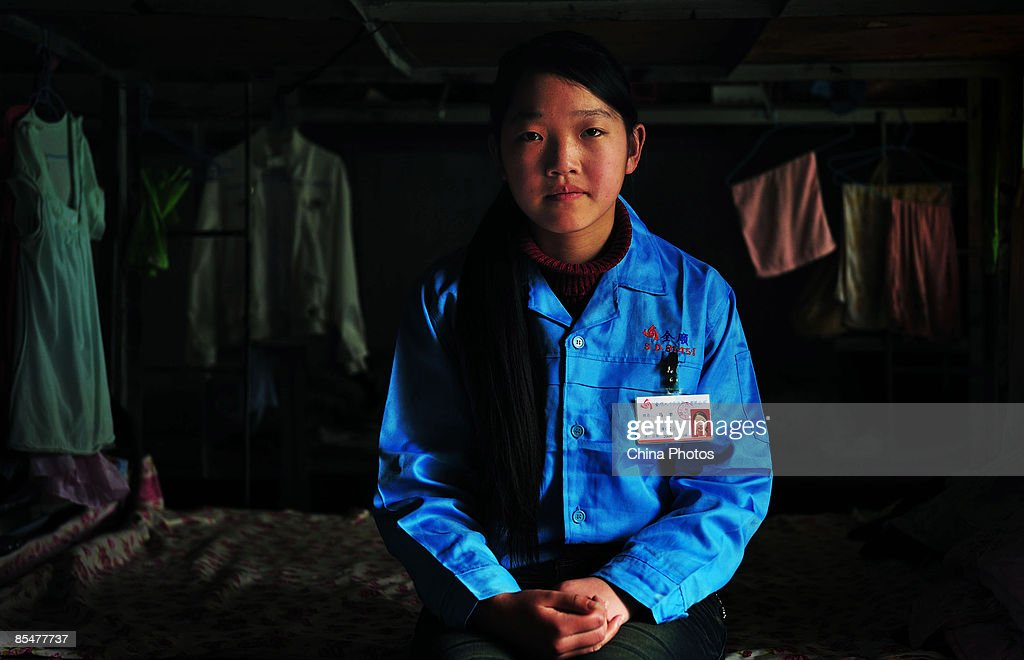 Eighteen-year-old worker Ma Mengzhu waits for a job at the Shenzhen Quanshun Human Resources Co. Ltd. on March 9, 2009 in Shenzhen, Guangdong Province, China. The company, which was established by entrepreneur Zhang Quanshou, supplies workers to enterprises in the Guangdong and Fujian provinces. Since 1997 Zhang has recruited migrant workers and leased them to factories, once the production order of a company is finished workers are then transferred to another one.