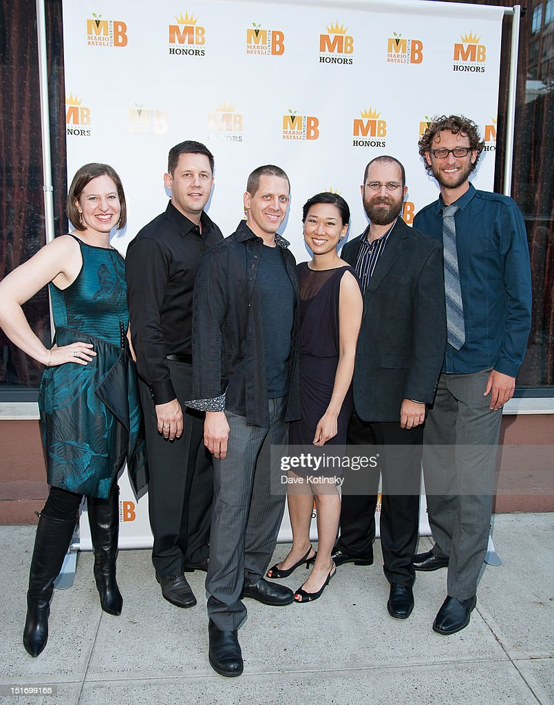 Eighth Blackbird attends The Mario Batali Foundation Inaugural Honors Dinner at Del Posto Ristorante on September 9, 2012 in New York City.