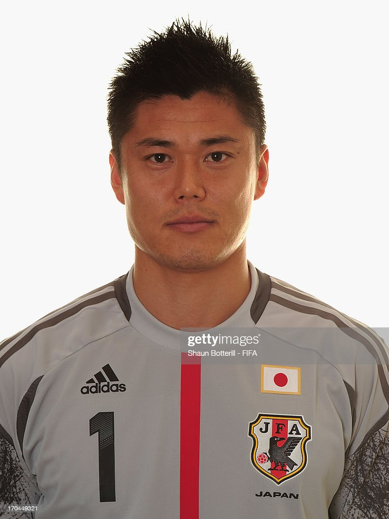 <a gi-track='captionPersonalityLinkClicked' href=/galleries/search?phrase=Eiji+Kawashima&family=editorial&specificpeople=3117136 ng-click='$event.stopPropagation()'>Eiji Kawashima</a> of Japan poses for a portrait at the Kubistchek Plaza Hotel on June 13, 2013 in Brasilia, Brazil.