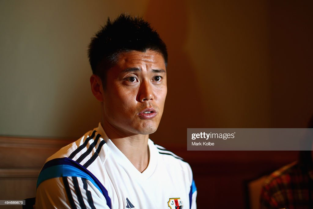 <a gi-track='captionPersonalityLinkClicked' href=/galleries/search?phrase=Eiji+Kawashima&family=editorial&specificpeople=3117136 ng-click='$event.stopPropagation()'>Eiji Kawashima</a> of Japan speaks to the press during a media session at the Hyatt Regency Clearwater Beach Resort and Spa on May 30, 2014 in Clearwater, Florida.