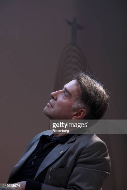Eike Batista chief executive officer of EBX Group Co Ltd attends the Rio Investors Day 2012 conference in Rio de Janeiro Brazil on Tuesday May 22...