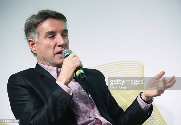 Eike Batista chief executive officer of EBX Group Co Ltd speaks during the Rio Investors Day conference in Rio de Janeiro Brazil on Tuesday May 31...